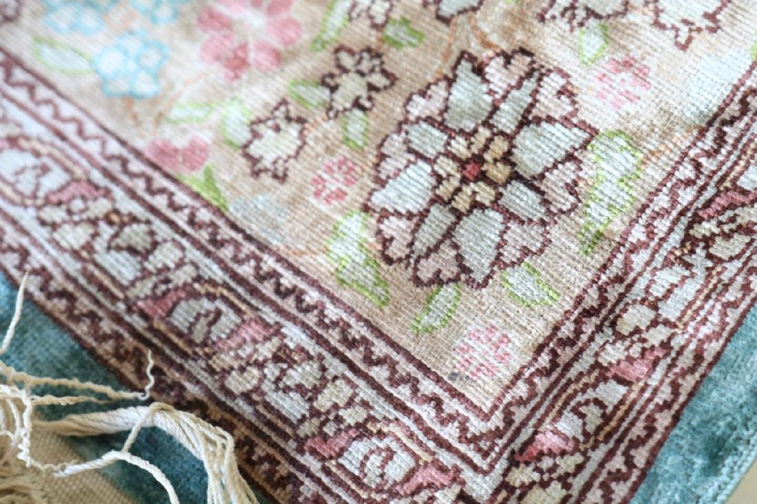 Silk Persian Carpet - 7