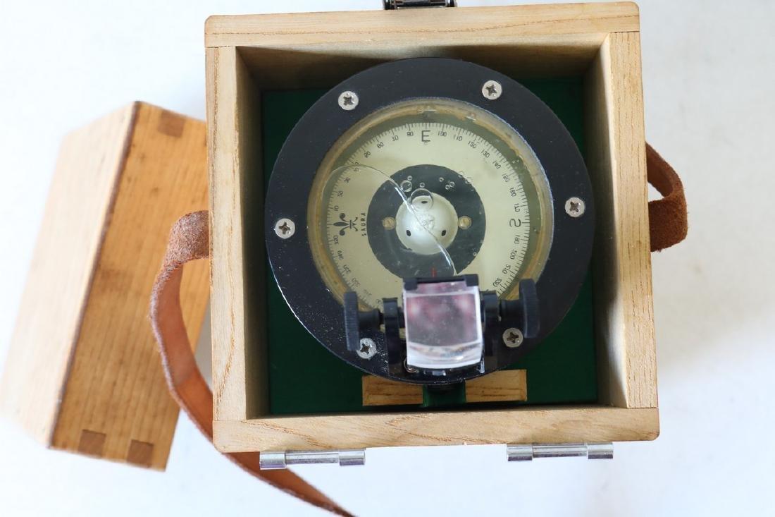 Vintage Saura ship compass