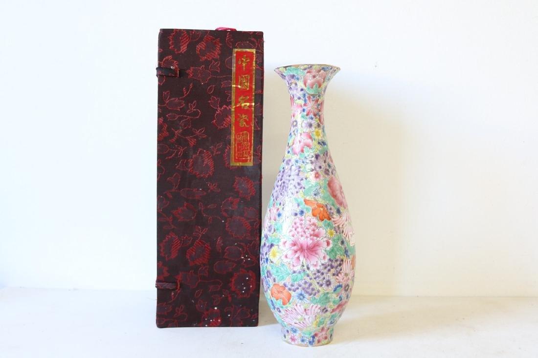 Eggshell Porcelain Handpainted Chinese Vase