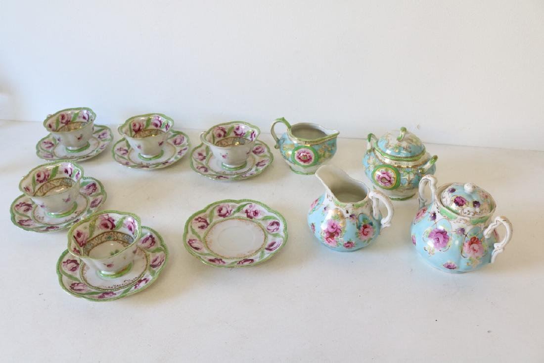 Lot of Handpainted China, Nippon