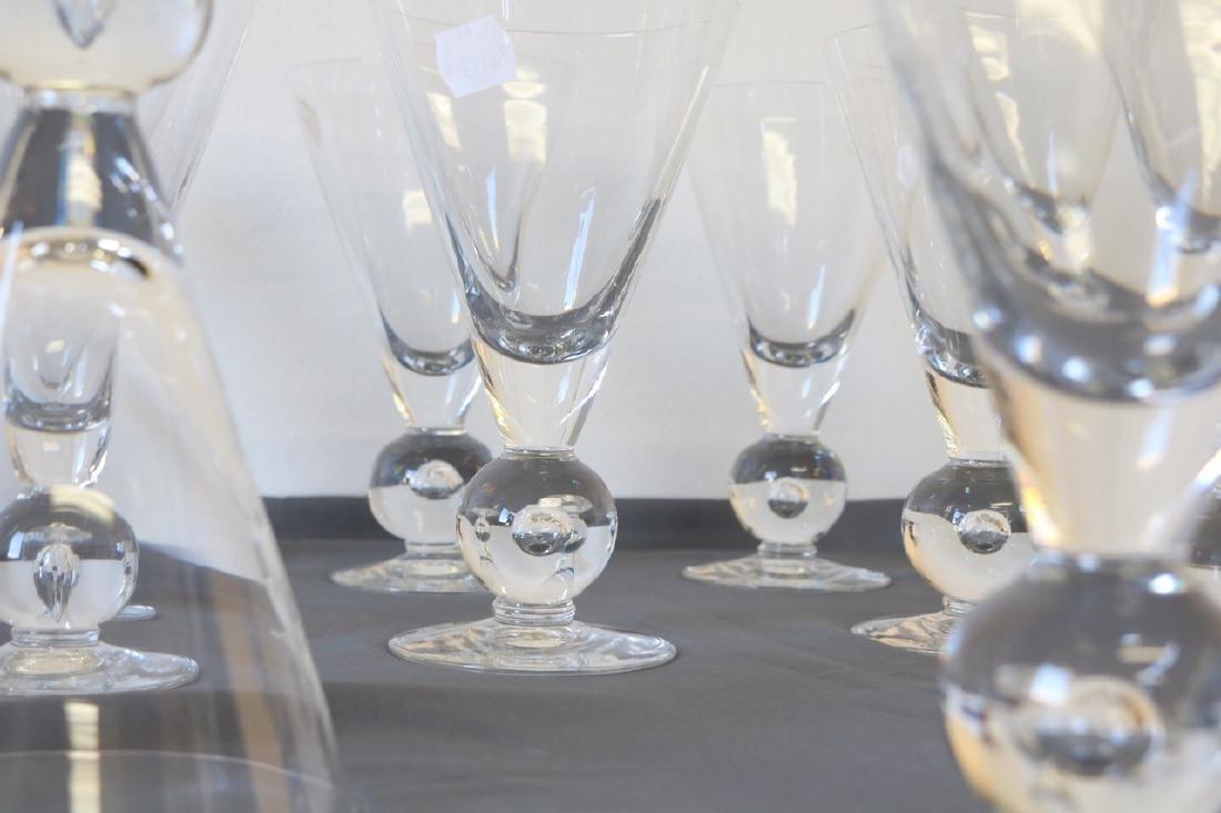 Lot of 12 Kosta Boda Avon Pattern Goblets - 4