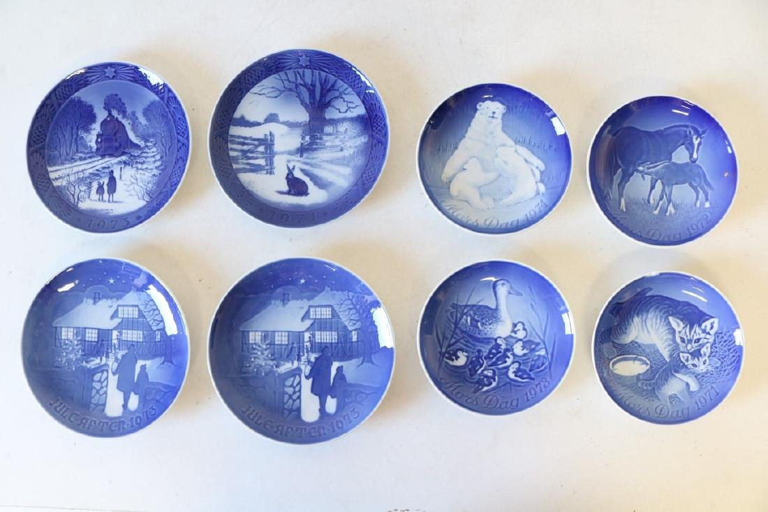 Lot of 8 Bing & Grondahl Plates