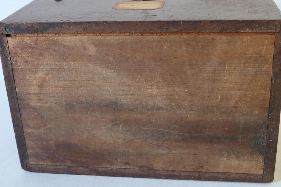 1888 Wood Box - Humphrey's Veterinary Specifics - 10