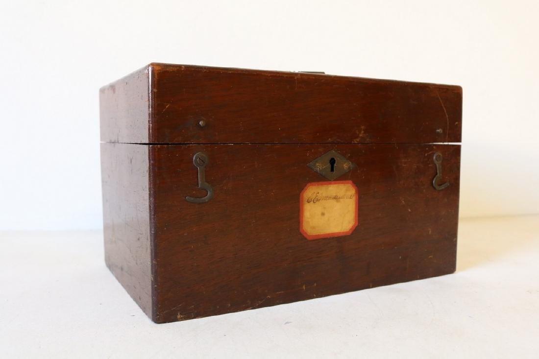 1888 Wood Box - Humphrey's Veterinary Specifics