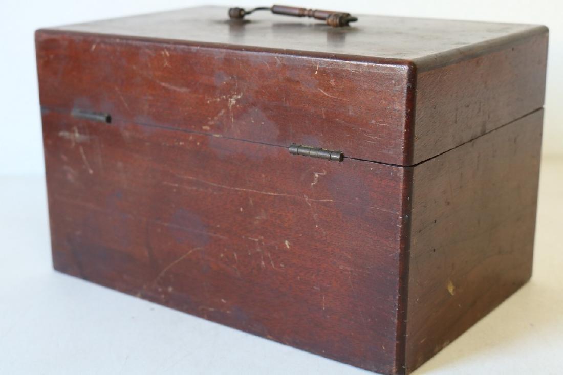 1888 Wood Box - Humphrey's Veterinary Specifics - 3