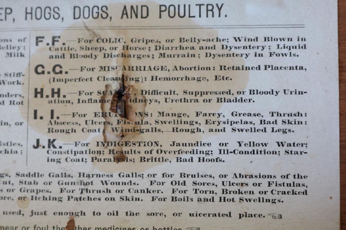 1888 Wood Box - Humphrey's Veterinary Specifics - 8