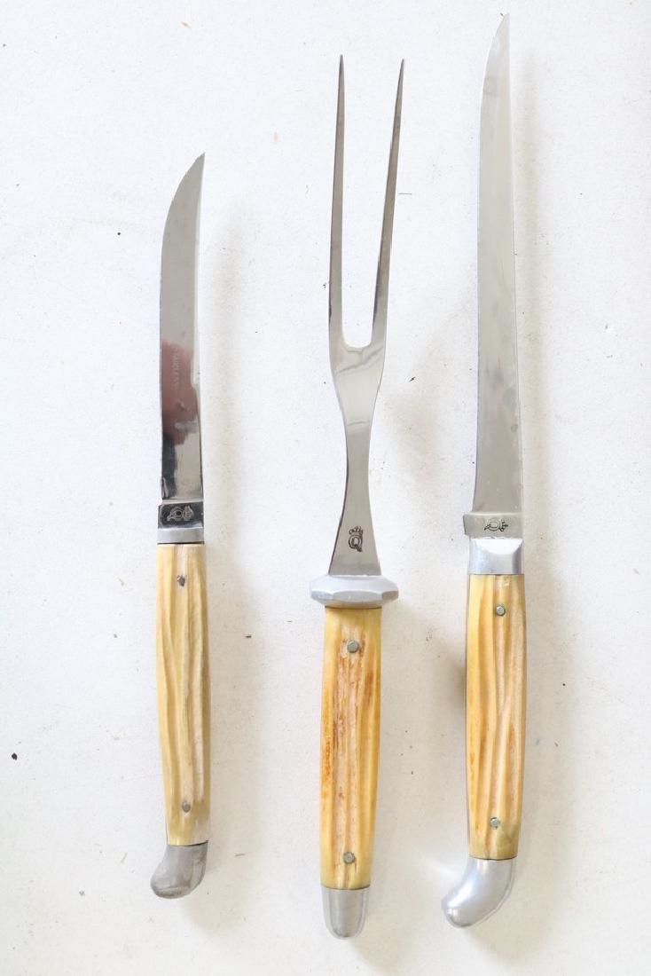 Set of bone handled knives - 2