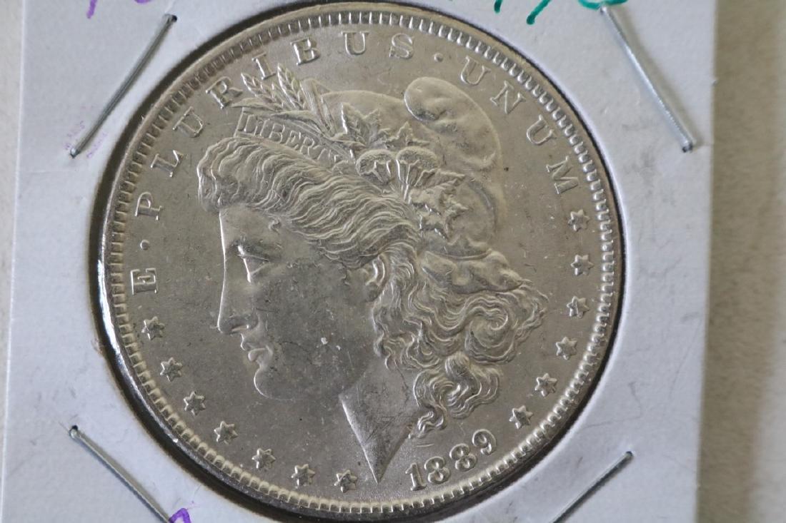 1889 Morgan Silver Dollar Coin