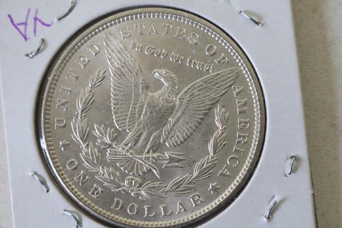 1889 Morgan Silver Dollar Coin - 2
