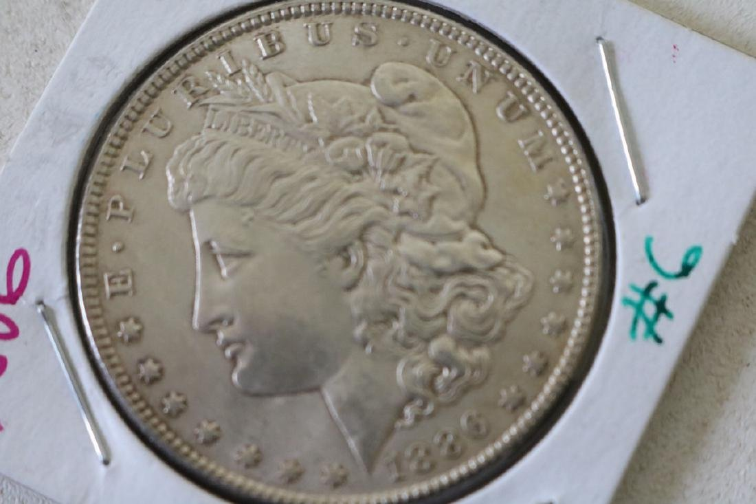 1886 Morgan Silver Dollar Coin