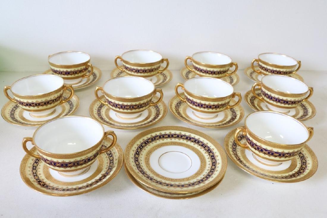 Set of 10 Tiffany & Co, English Coalport