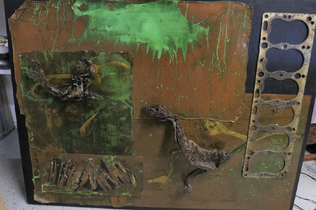 Abstract Metal Art by Gail Taylor