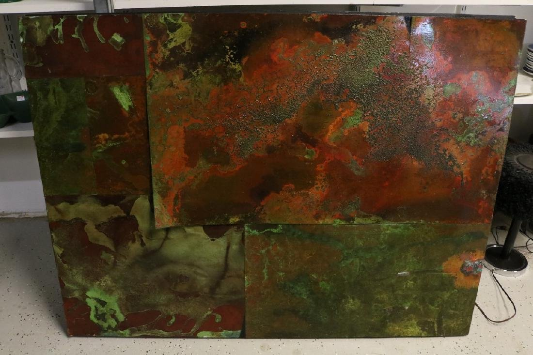 Abstract Metal Art , believe to be Gail Taylor