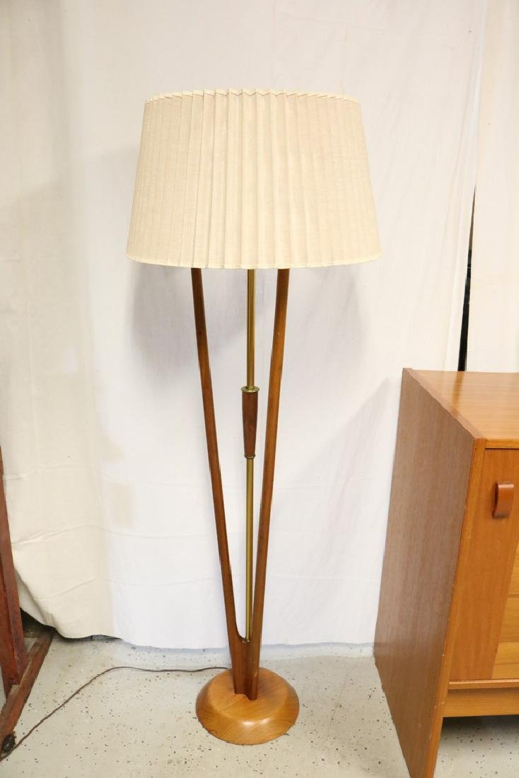Danish Teak Mid-Century Floor Lamp