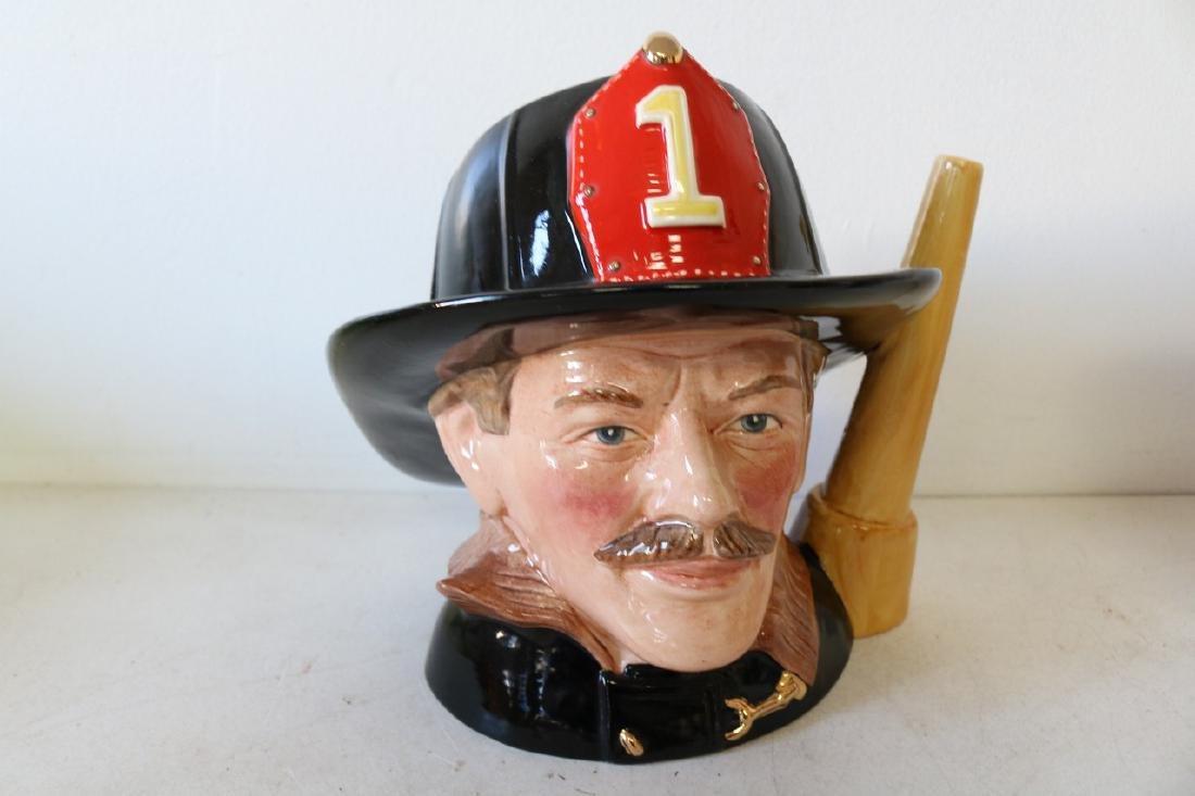 """Royal Doulton, """"The Fireman"""" Mug, #D.6697"""