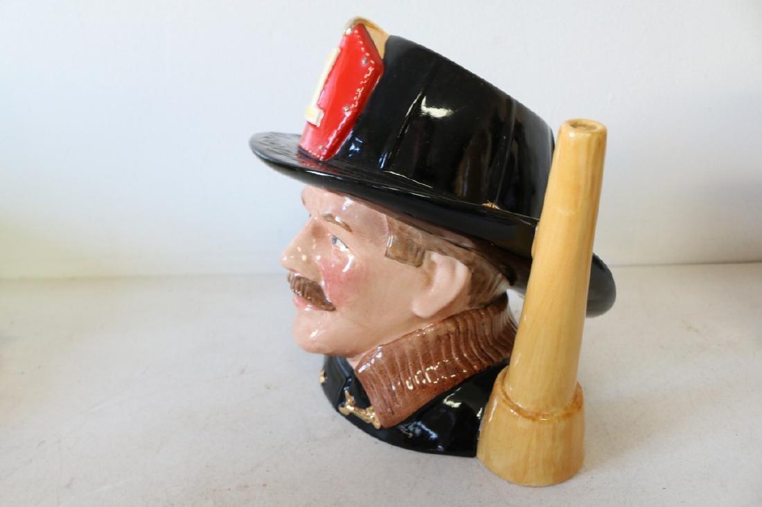 """Royal Doulton, """"The Fireman"""" Mug, #D.6697 - 2"""