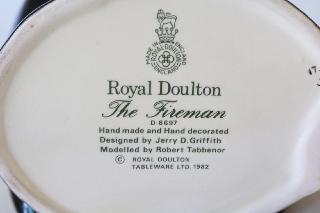 """Royal Doulton, """"The Fireman"""" Mug, #D.6697 - 5"""