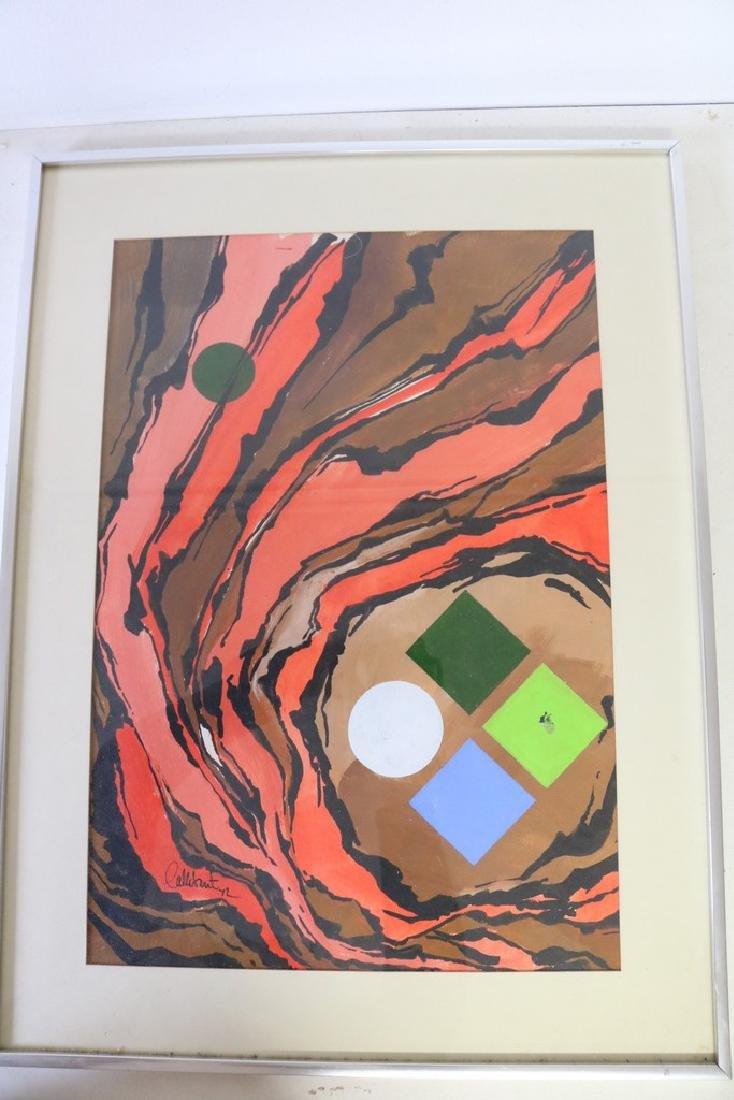 1972 Callebaut Acrylic Painting