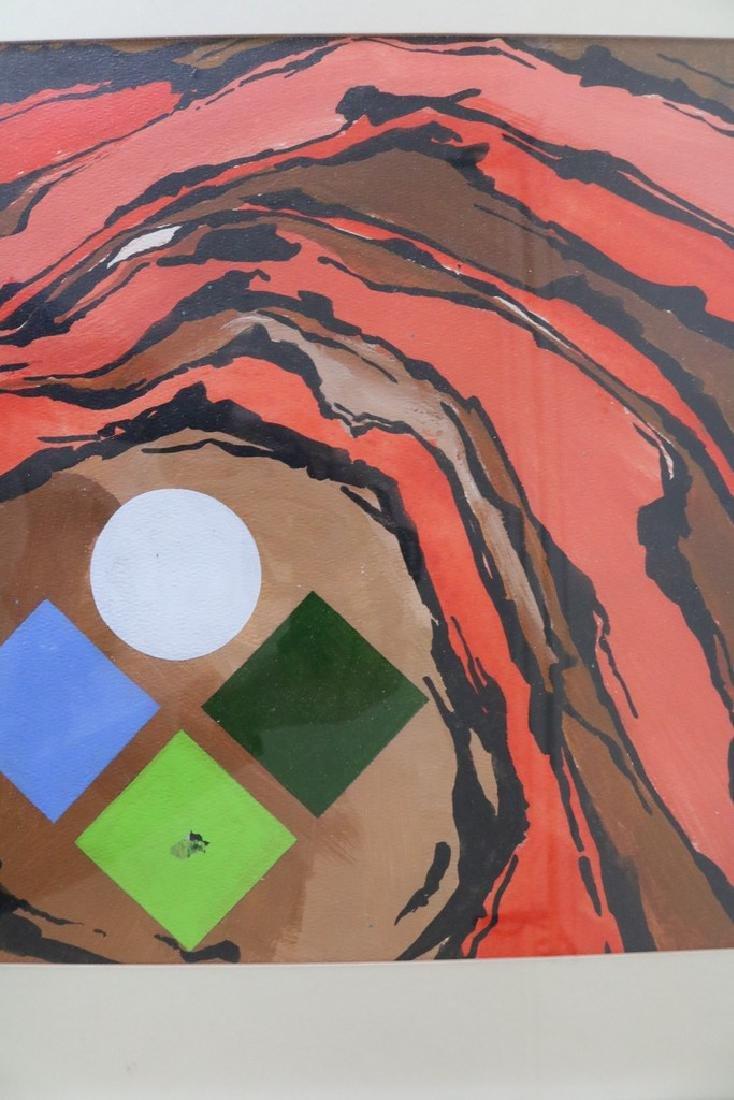 1972 Callebaut Acrylic Painting - 3