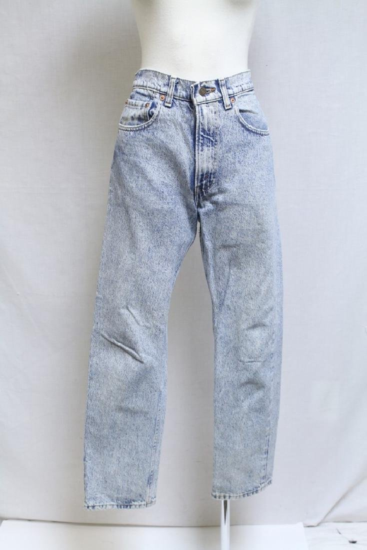Vintage 1980s Levi's Acid Wash Denim Jeans