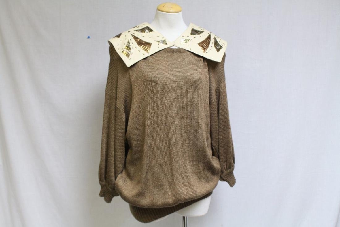 Vintage 1980's Ingrid Muhlhofer Oversized Sweater