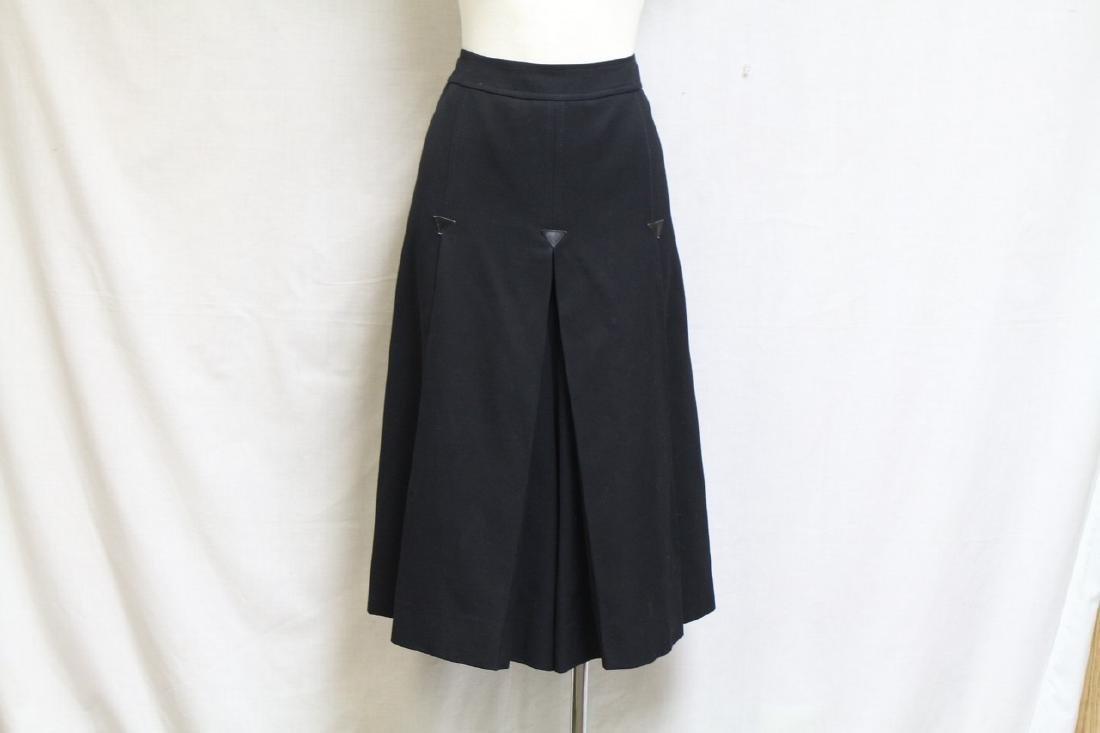 Vintage 1990's Celine Gabardine Gaucho Pants
