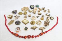 Vintage Lot of Vintage Jewelry
