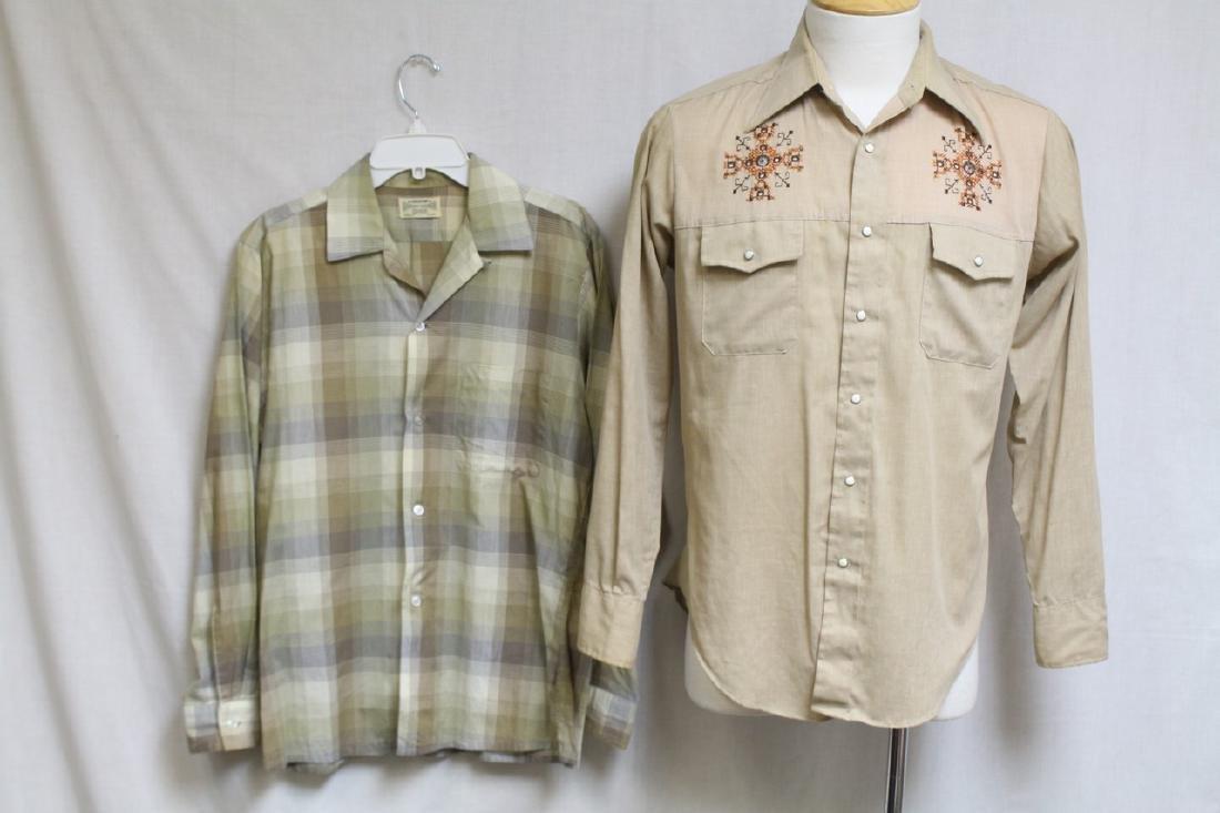Vintage Lot of 1970's Mens Shirts