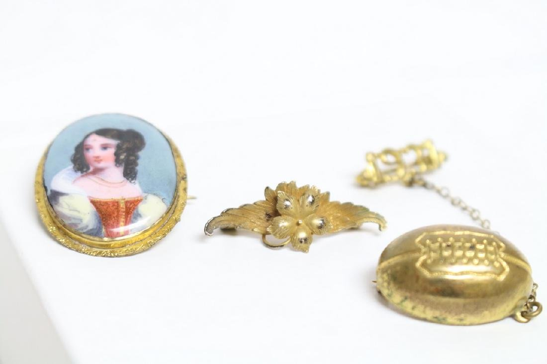 Vintage Lot of 1930s Pins (3)