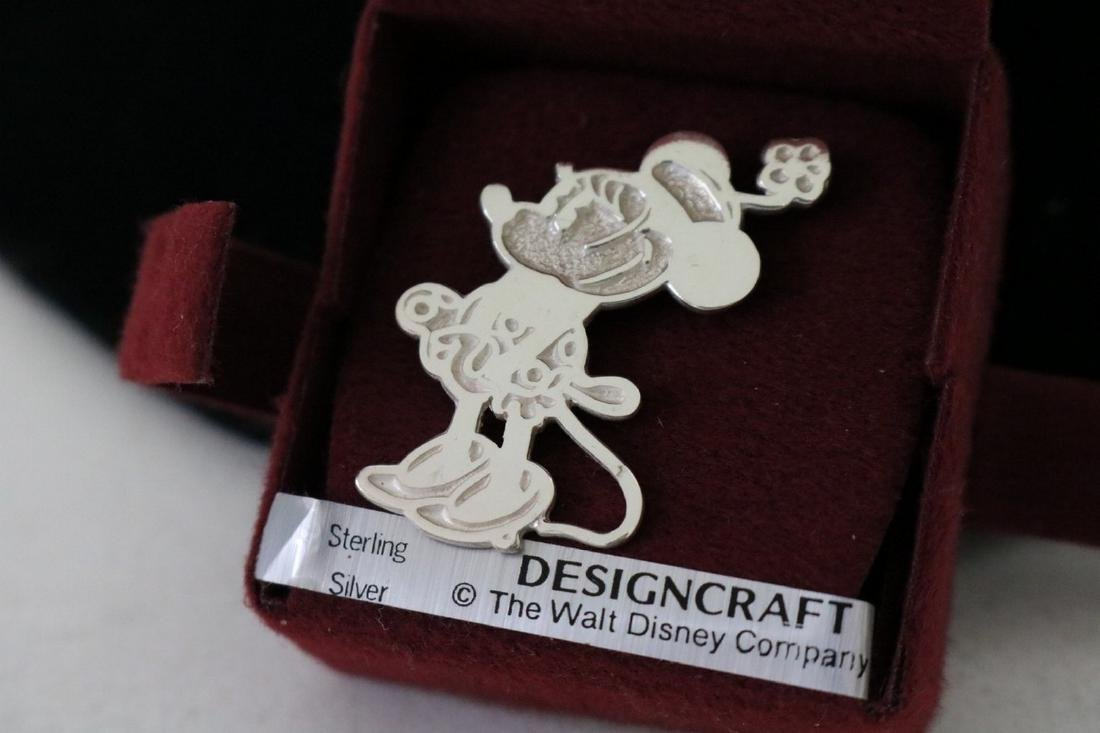 Sterling Silver Minnie Pendant