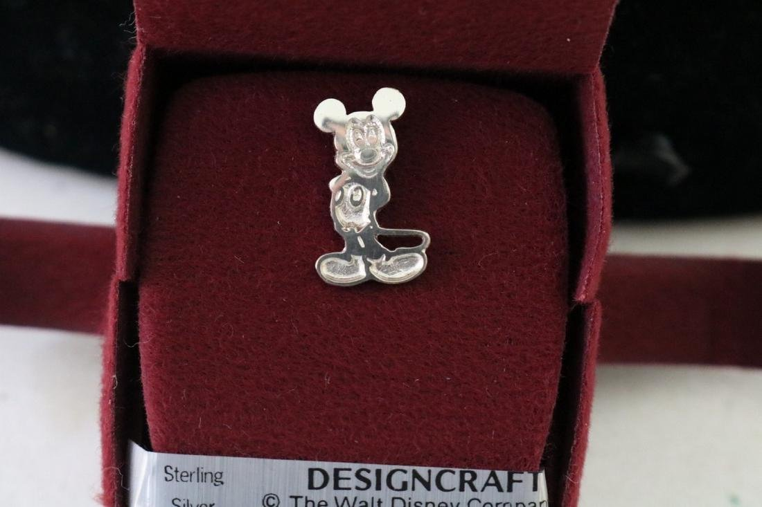 Sterling Mickey Pendant