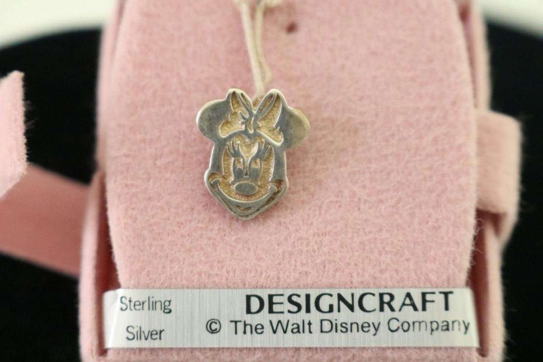 Sterling Minnie Pendant