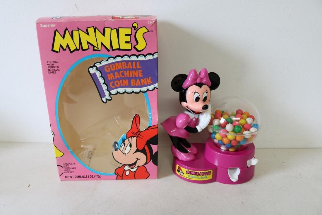 Minnie's Gumball Machine Coin Bank