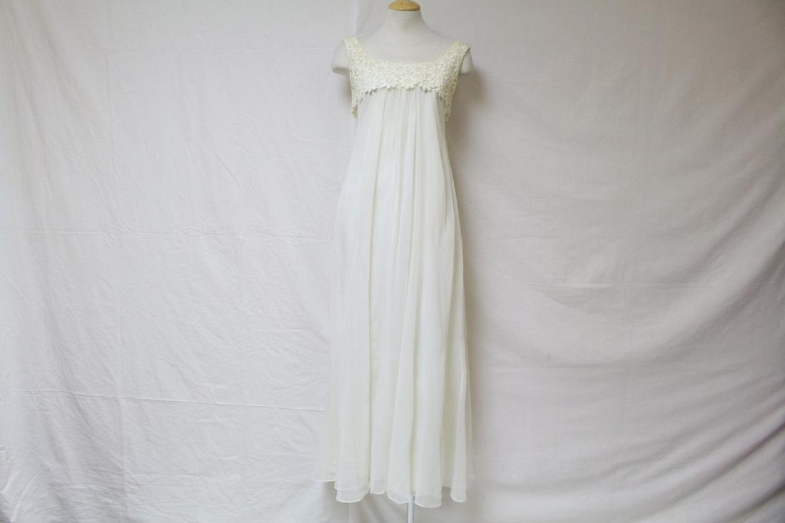 Vintage 1960's Empire Waist Wedding Dress