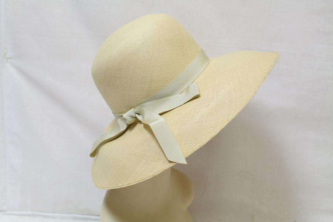 Vintage 1950's Wide Brim Straw Hat
