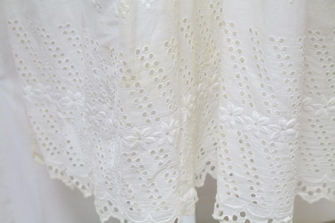 Antique Strapless Cotton Slip - 3