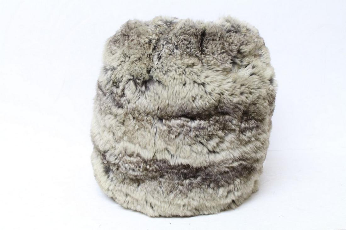 Vintage 1930s Chinchilla Fur Muff
