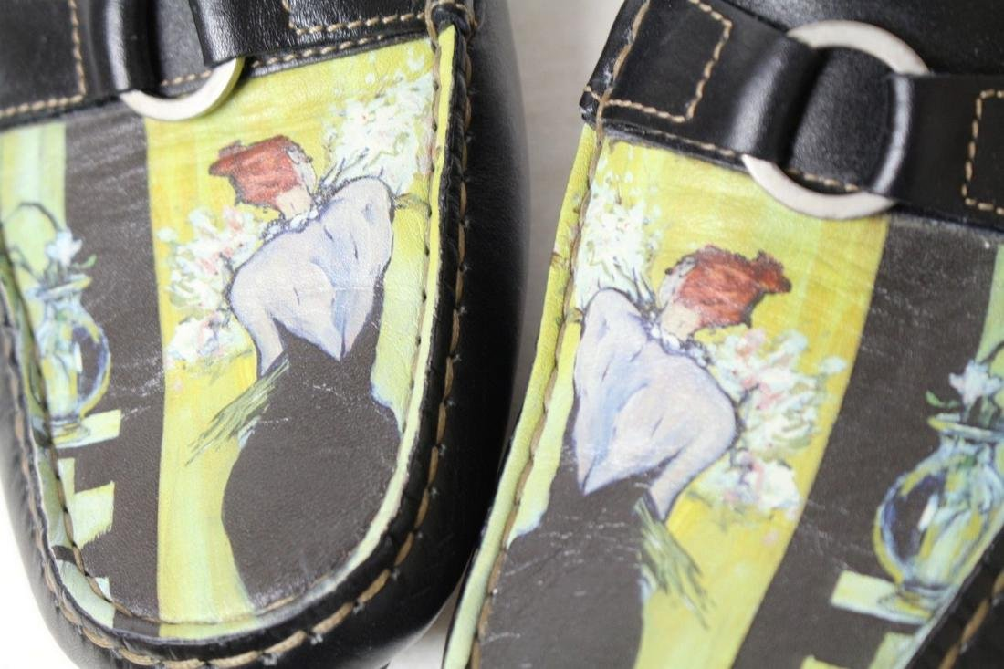 Modern Icon Art Leather Loafers - 2