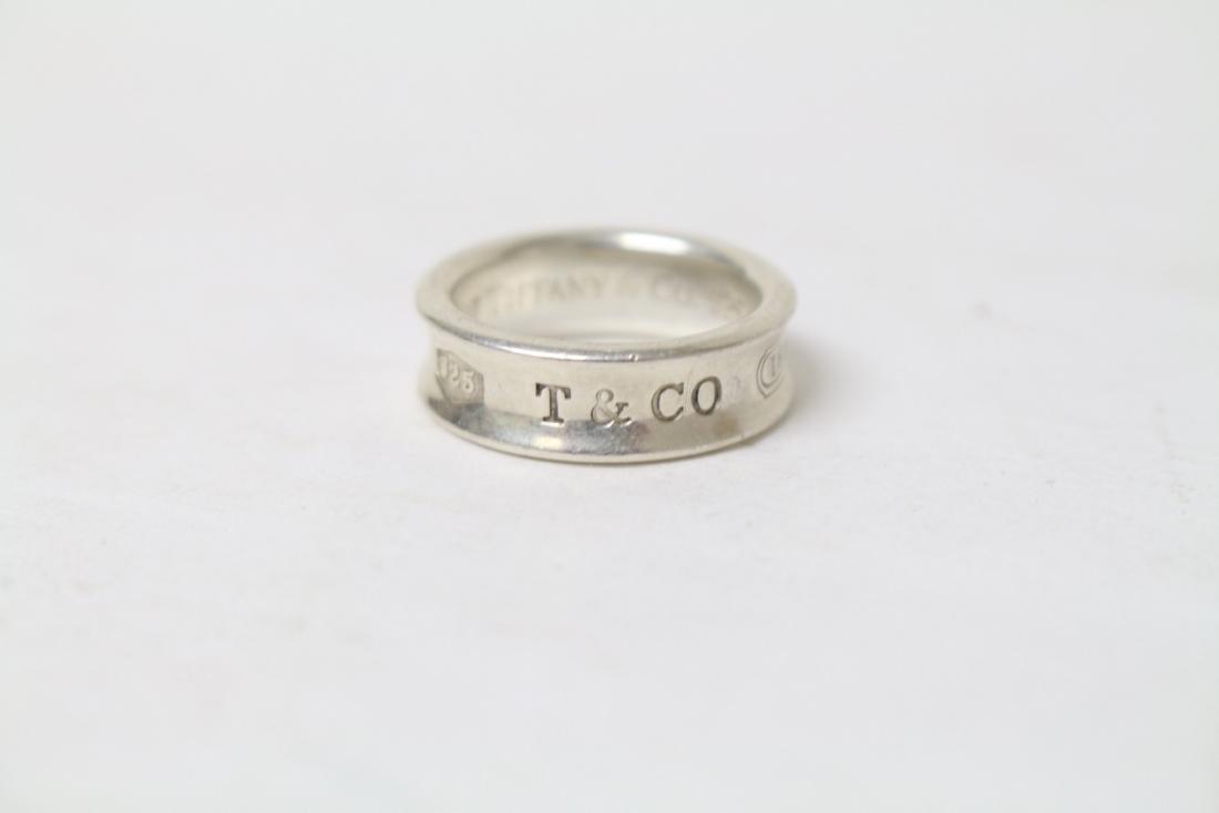 Modern Tiffany & Co Sterling Silver Ring