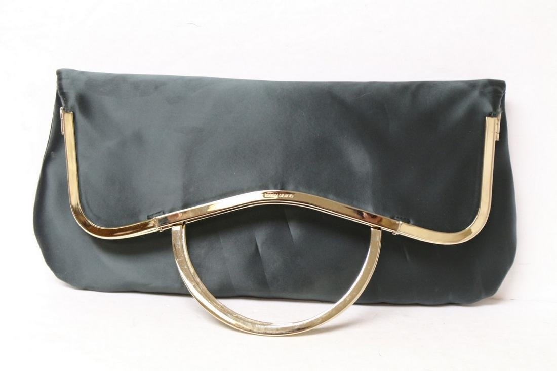 Modern Giorgio Armani Satin Clutch Purse