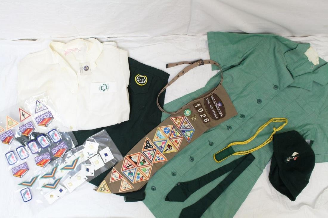 Vintage Girl Scout & Brownie Lot