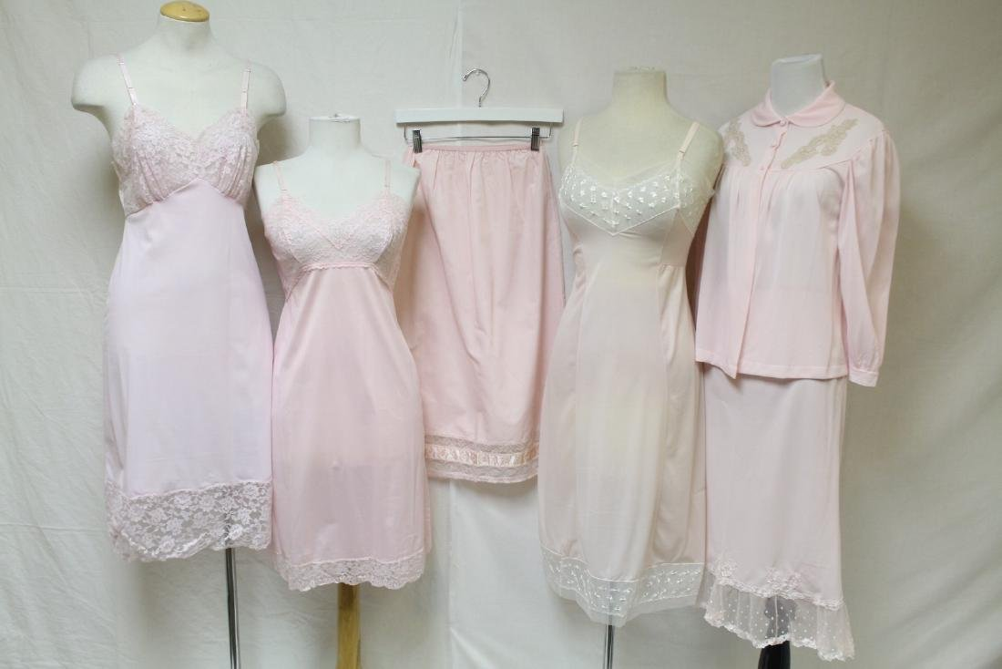 Vintage 1960s Lot of Pink Lingerie