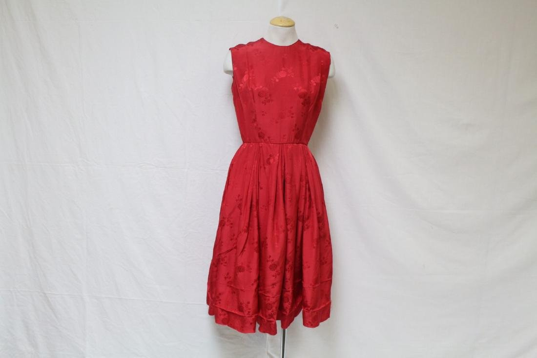 Vintage 1960s Peck & Peck Silk Dress