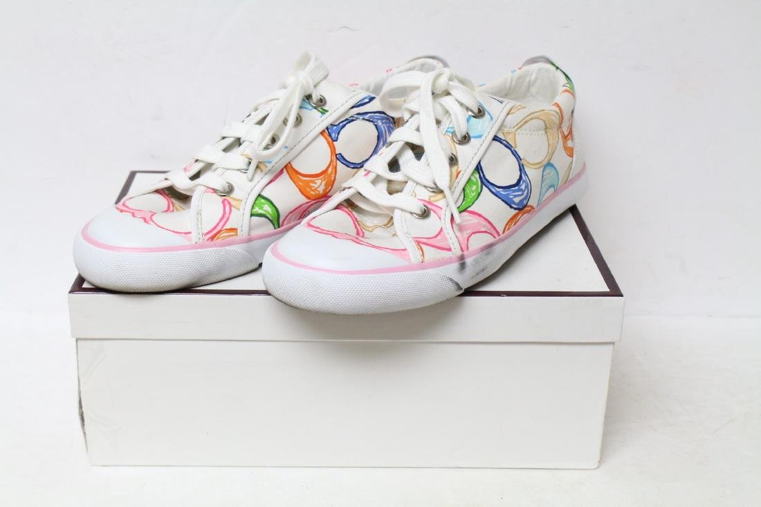 Modern Coach Colorful Sneakers