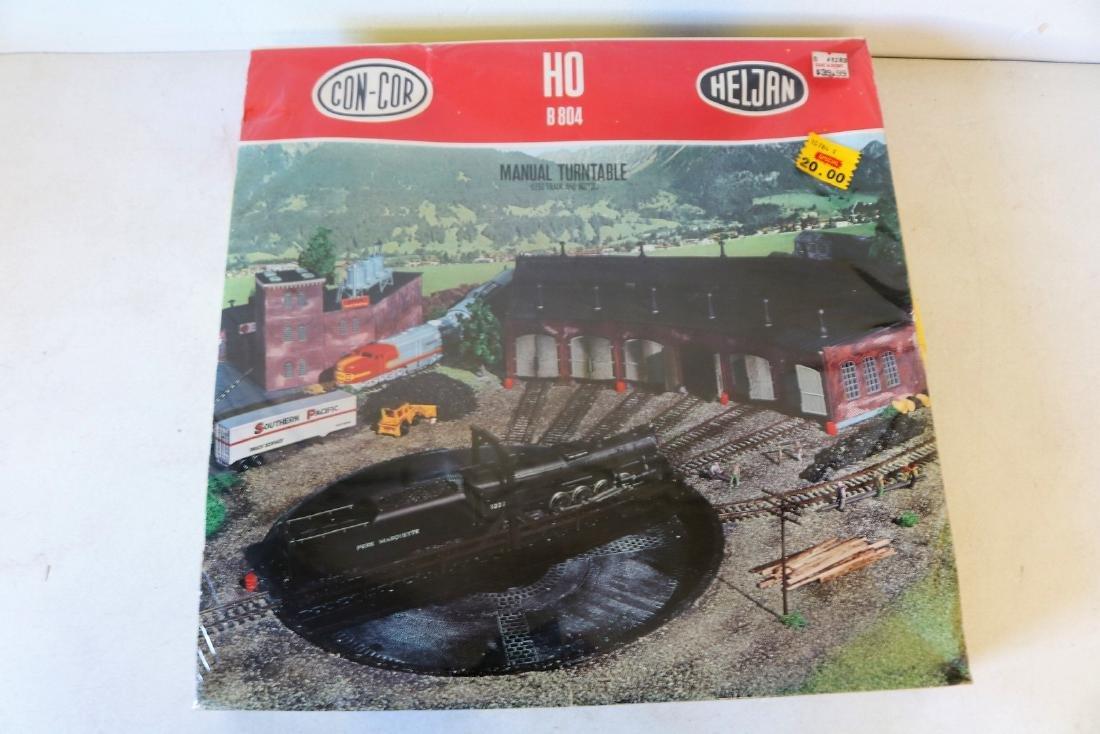 HO B 804 Manual Turntable, Con-Cor Heljan