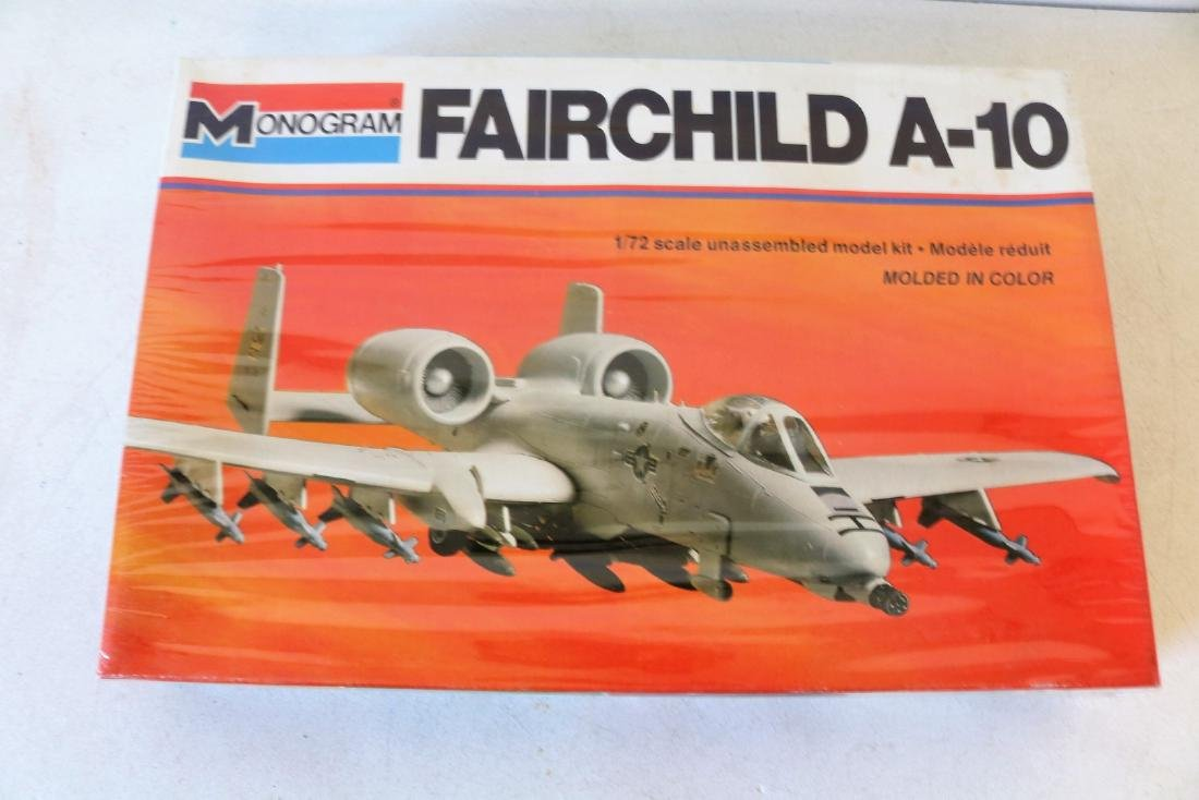 Monogram Fairchild A-1o, 1/72 scale model kit