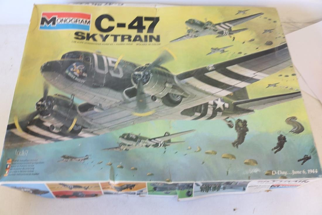 Monogram, C-47 Skytrain, 1/48 scale model kit