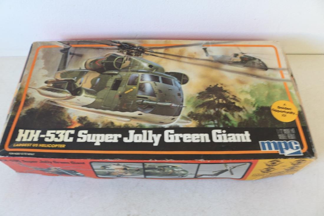 MPC, HH-53C Super Jolly Green Giant, scale model kit