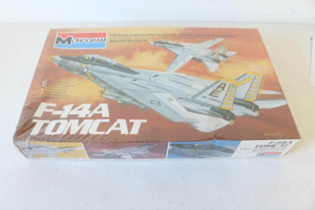 Monogram, F-14A Tomcat, 1/48 scale model kit