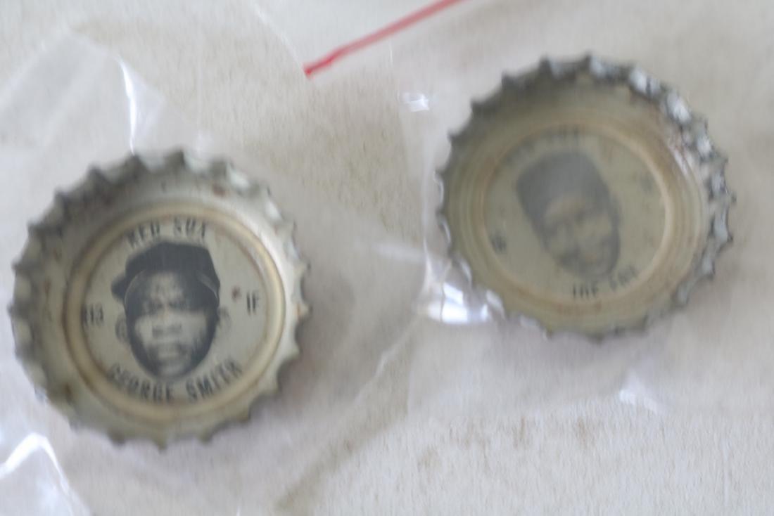 Vintage Coke Baseball Bottle Caps, Red Sox & All Star - 4